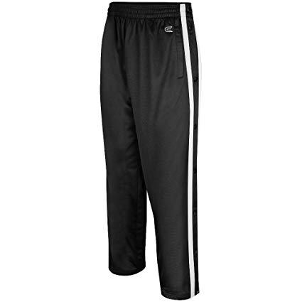 Amazon.com: Colosseum Mens Tearaway Athletic Pants (Black/White