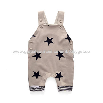 China Cute Baby Boys Clothes Toddler Boys Romper Jumpsuit Overalls
