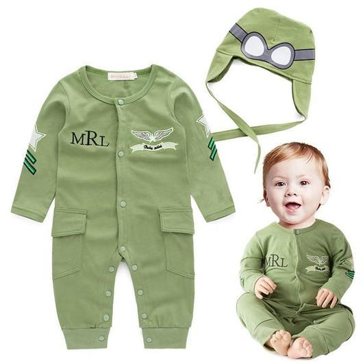 Aviator Baby Boy Romper u2013 Fox Stark