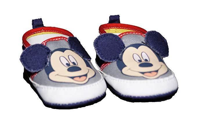 Amazon.com: Disney Mickey Mouse Boat Shoe Baby Boy Shoes: Clothing