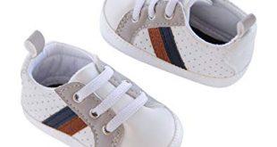 Amazon.com   Carter's Kids Baby Boy Soft Sole Sneaker Crib Shoe