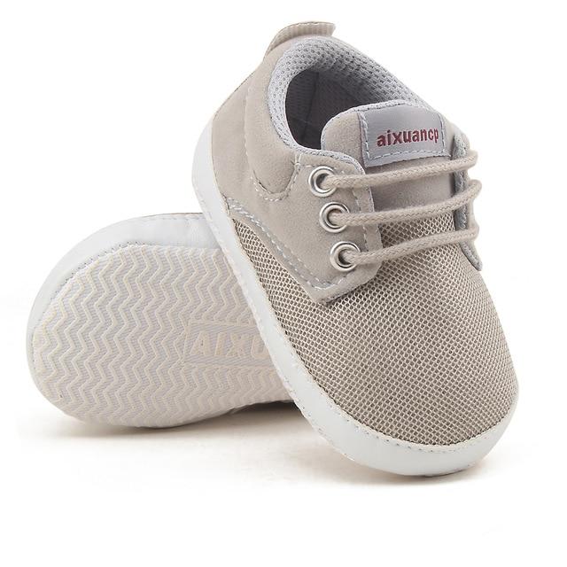 Newborn Baby Boy Shoes First Walkers Spring Autumn Baby Boy Soft