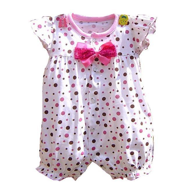 Summer Newborn Baby Girl Rompers Kids Jumpsuit Fantasia Infantil