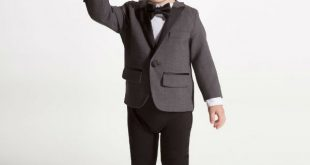 DSQUARED2 Baby Boys Tuxedo Baby Suit | Dashin Fashion
