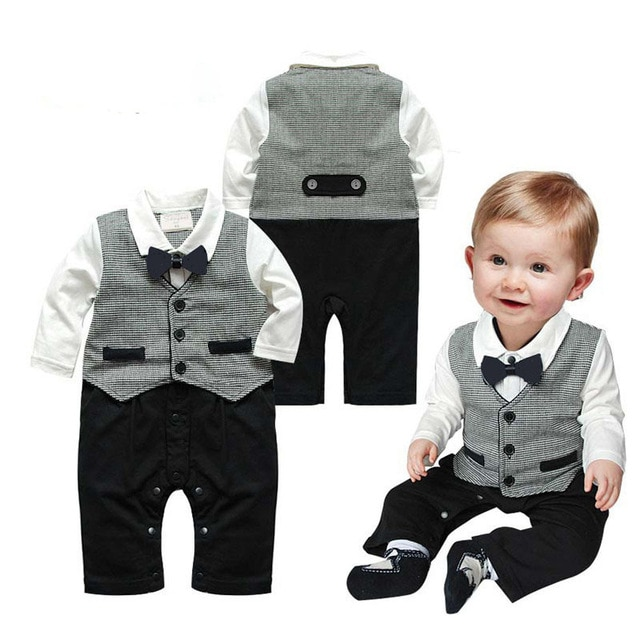 Newborn Infantis Toddler Baby Boys Suits for Weddings Costume for