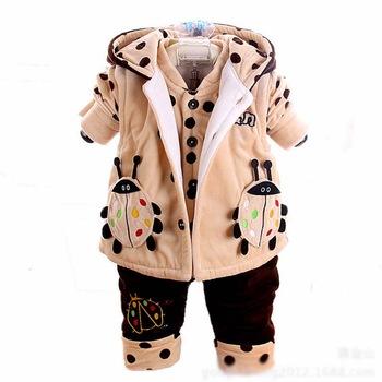 Cb10017 Latest Design Winter Three Pieces Baby Suits - Buy Three