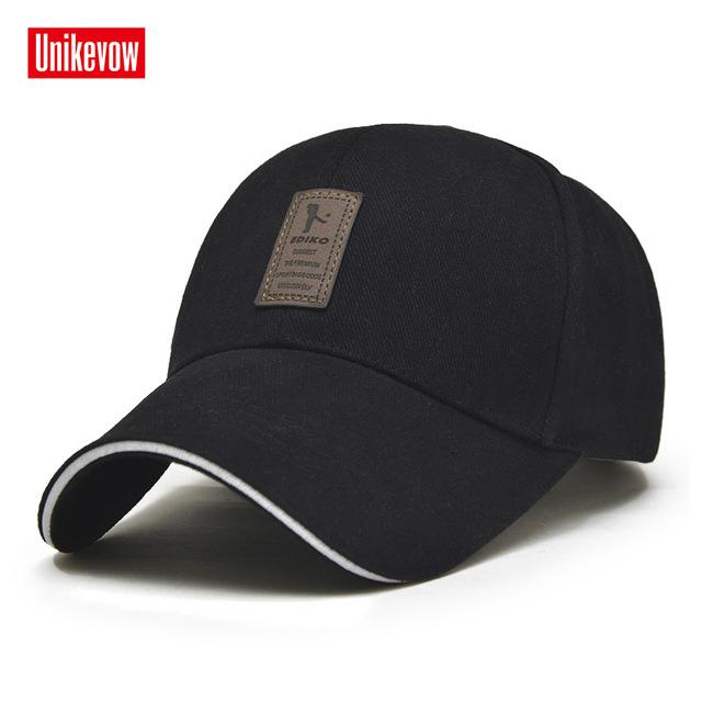 1Piece Baseball Cap Men's Adjustable Cap Casual leisure hats Solid