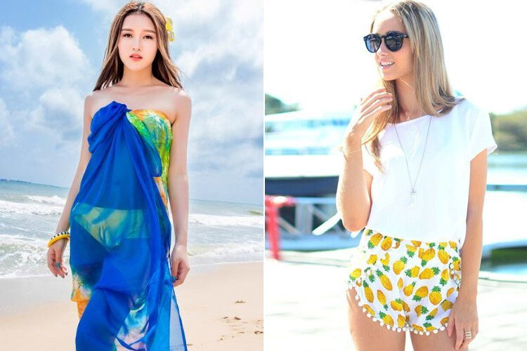 Beach-Wear Fashion Statements That Are A Must Tryu2013 20 Unique Looks