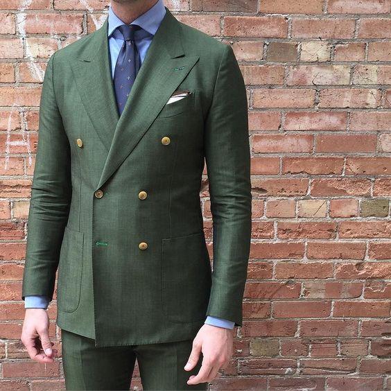 2018 Latest Coat Pant Designs Fashion Bespoke Suits Terno Slim Fit