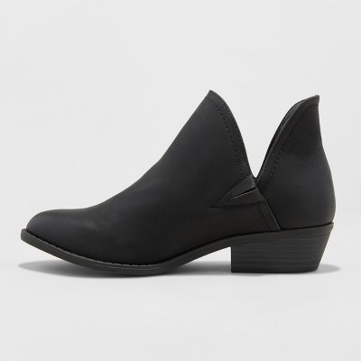 Women's Nora V-Cut Ankle Booties - Universal Thread™ : Target