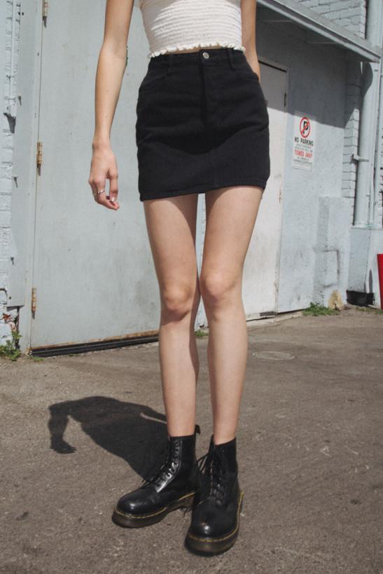 Margret Denim Skirt - Skirts - Bottoms - Clothing
