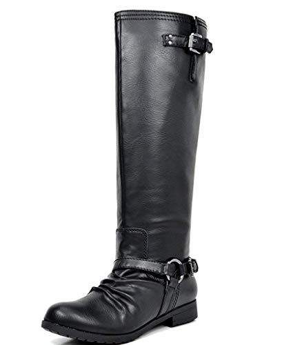 Amazon.com | TOETOS Women's Fashion Knee High and Up Riding Boots