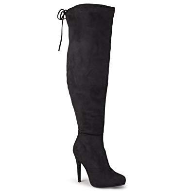 Amazon.com | Journee Collection Women's Over-The-Knee High Heel