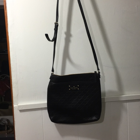 kate spade Bags   New York Black Shoulder Bag   Poshmark