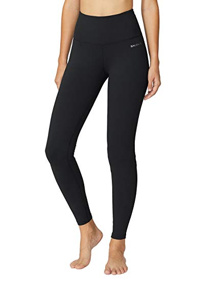 Amazon.com: Baleaf Women's High Waist Yoga Pants Inner Pocket Non