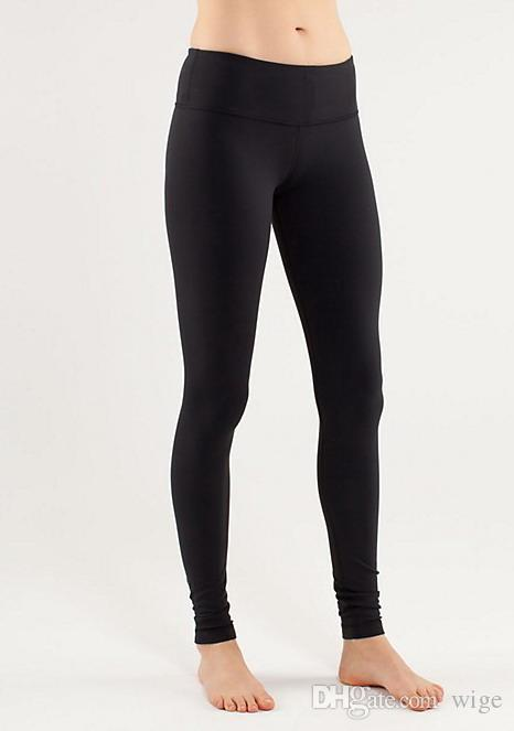 2015 HOT Women Black Yoga Pants Leggings Athletic Pants Full Length
