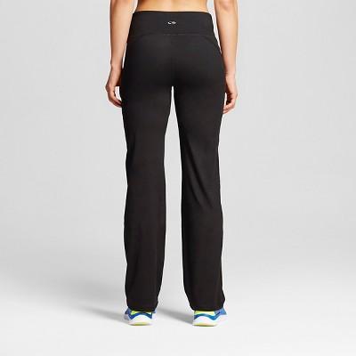 Women's Everyday Mid-Rise Curvy Fit Pants - C9 Champion® Black : Target