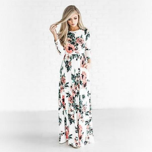Judy - Bohemian Dress u2013 Silk & Wine