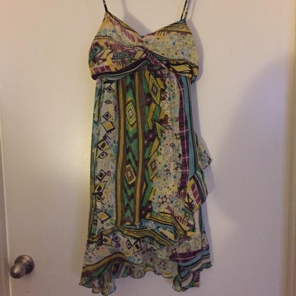 Zara Dresses | Boutique Dress Made By Moroccan Designer Trf | Poshmark