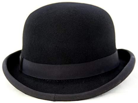 Thorness 100% Felt Bowler Hat - Size 56cm: Amazon.co.uk: Clothing