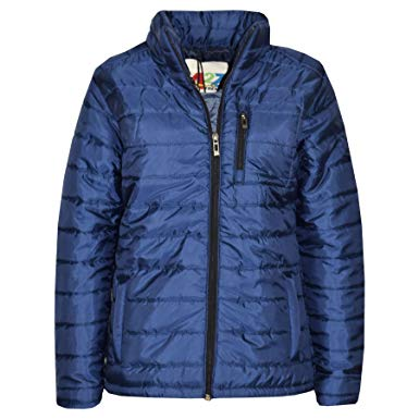 Amazon.com: A2Z 4 Kids® Boys Jackets Kids Foam Padded Navy Puffa