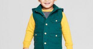 Genuine Kids® From OshKosh Toddler Boys' Canvas Vest With Hood