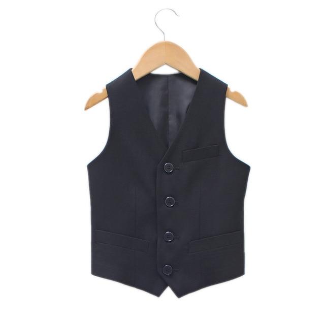 Baby Boy Formal Dress 2017 New Boys Vest children boys Vest leisure