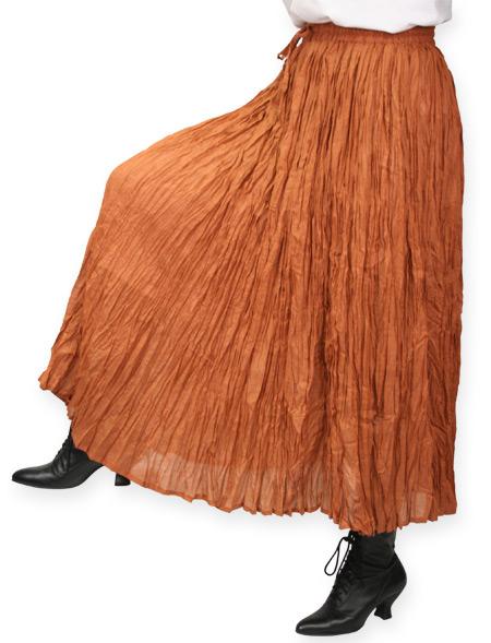 Hestia Broomstick Skirt - Copper