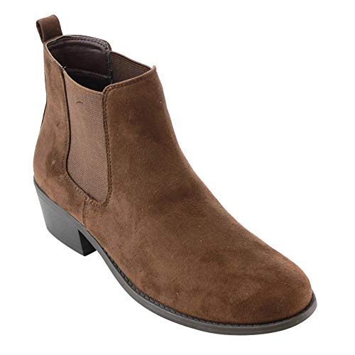 Dark Brown Ankle Boots: Amazon.com
