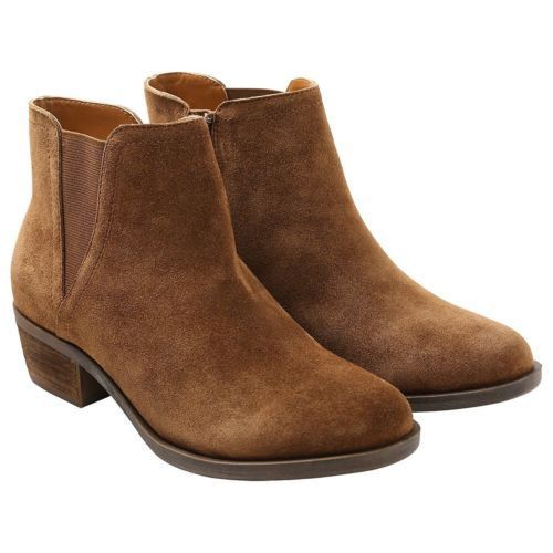 Brown ankle boots for both men and women