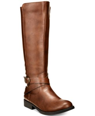 Style & Co Madixe Riding Boots, Created for Macy's - Boots - Shoes