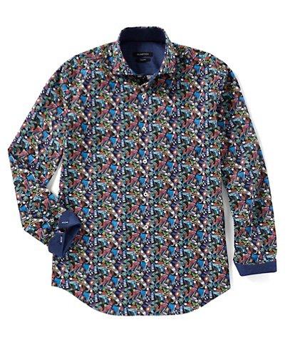 Bugatchi Men's Casual Button-Front Shirts | Dillards