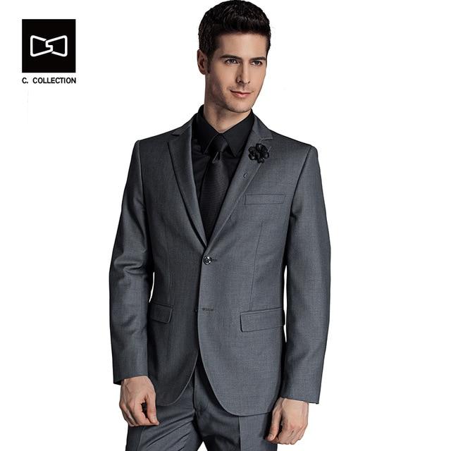 Business Suit Jacket Men Tuxedo Slim fit Classic Suits Blazer