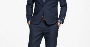 2019 Simple Solid Color Men'S Business Suits Men'S Career Suit Suit