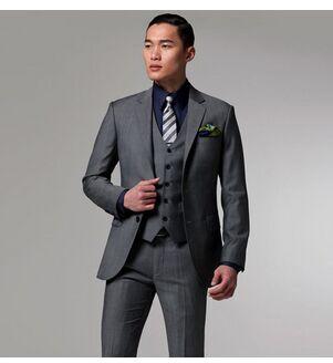 Custom Made Groom Tuxedos Formal Men Wedding suit Groomsman Suit Men