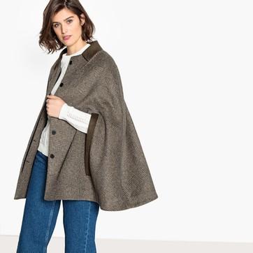 Women's Hooded Cape Coats & Shawls   La Redoute