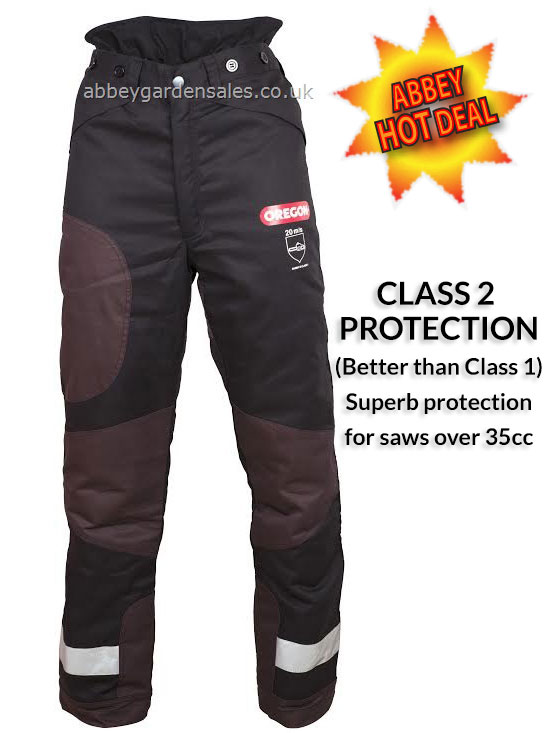 OREGON YUKON PLUS Type A Class 2 Chainsaw Trousers ((Limited Offer