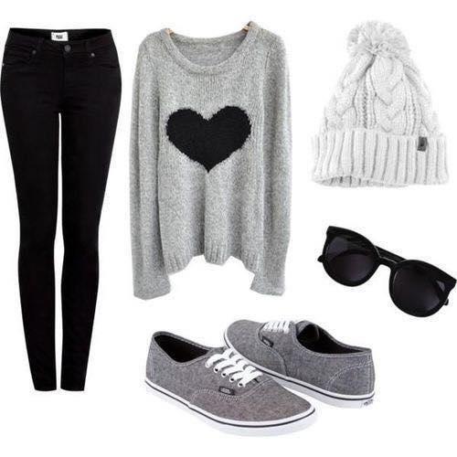 Cute Winter Outfits Teenage Girls-18 Hot Winter Fashion Ideas