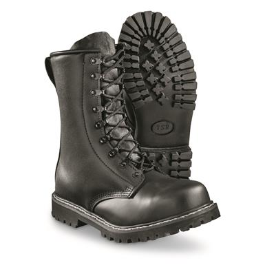 German Military Style Steel Toe Combat Boots - 700372, Combat