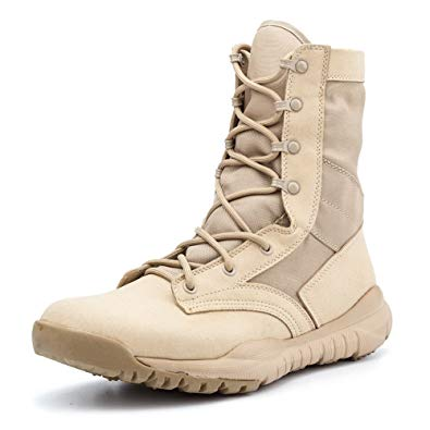 Amazon.com: IODSON US Mens' Ultra-Light Combat Boots Military