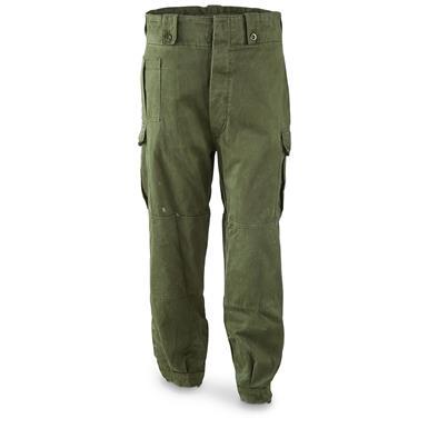 Belgian Military Surplus Combat Pants, Used - 663101, Military