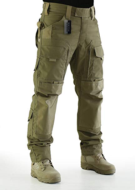 Amazon.com : ZAPT Tactical Molle Ripstop Combat Trousers Army