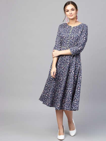 Cotton Dress - Buy Cotton Dresses Online @ Best Price   Myntra