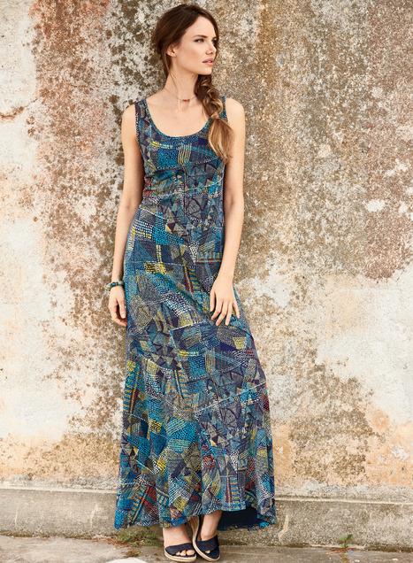 Dreamtime Dress, Designer Cotton Dresses, Designer Work Dresses