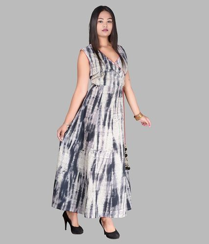 Cotton Printed Full Length Dress, Size: S, M, And L, Rs 480 /piece
