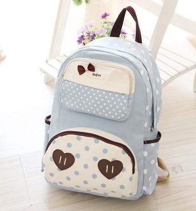 Japanese Cute Canvas Backpack Bag YV161   Youvimi