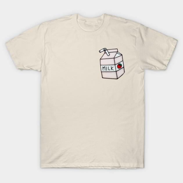 cute milk carton - Kawaii Cute - T-Shirt   TeePublic