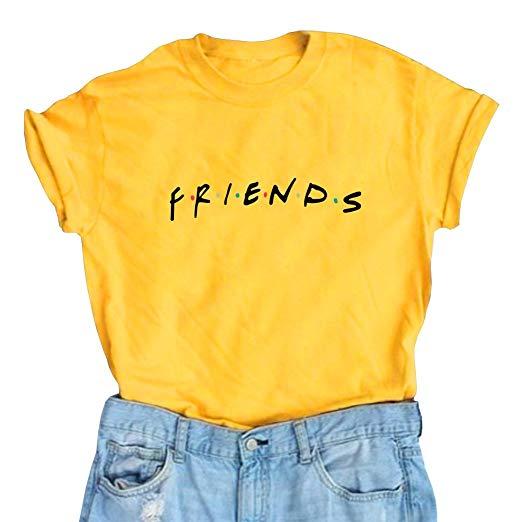 Amazon.com: LOOKFACE Women Friends TV Show Graphic Cute T Shirts