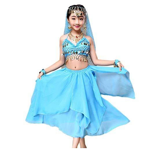 Amazon.com: Baby Dance Dresses, Inkach Kids Girls India Belly Dance