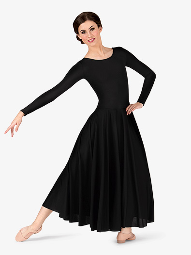 Women's Worship Long Sleeve Dance Dress - Ballet/Lyrical   Body